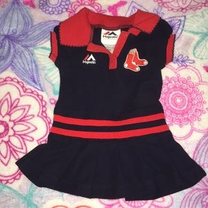 Other - 3 for $10~Boston Red Socks Baby Dress 16